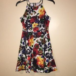 Floral Strapless mini dress by Philosophy